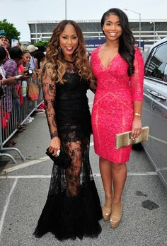 marjorie-harvey-lori-harvey-awards-atlanta mother/ my daughter like I have with my mother ❤️ Style, Attire Women, Evening Gowns, Fashion, Celebrity Style, Marjorie Harvey, Dresses, Love Couture, The Lady Loves Couture