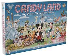 Disney Parks Exclusive Candyland Theme Park Edition Game Hasbro Disney Eye Found It, Disney Love, Disney Names, Disney Pins, Board Games For Boys, Candyland Board Game, Classic Board Games, Cute Games, Walt Disney Company