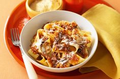 Skip the trip to your local Italian restaurant and enjoy tender beef and pasta with minimal time and effort, thanks to your pressure cooker.