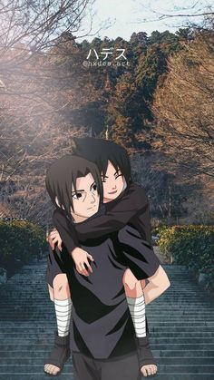 Itachi and Sasuke  wallpaper by hxdes_art - 82 - Free on ZEDGE™