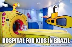 Funny pictures about Hospital for kids in Brazil. Oh, and cool pics about Hospital for kids in Brazil. Also, Hospital for kids in Brazil. Medical Design, Healthcare Design, Healthcare Architecture, Child Life Specialist, Floor Graphics, Hospital Design, Childrens Hospital, Kids Hospital, Hospital Humor