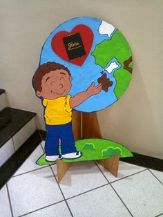 The Great Commission Craft - Go into all the World and preach the gospel Bible School Crafts, Bible Crafts For Kids, Vbs Crafts, Sunday School Crafts, Church Activities, Preschool Activities, Christian Kids, Object Lessons, Activities For Kids