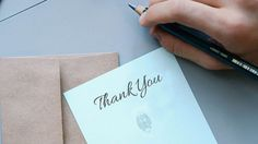 If you're going to send a thank-you note after your interview (and you should) make it a great one.