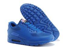 Nike Air Max 90 Men Blue Shoes