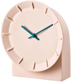 Mitis Peach Table Clock