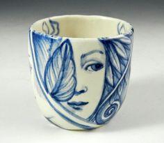 Porcelain tea cup by PSPorcelain