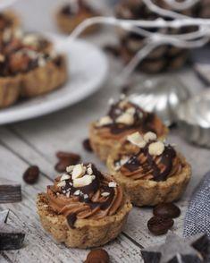 KÁVOVÉ KEŠU KOŠÍČKY Waffles, Cereal, Muffin, Paleo, Low Carb, Cookies, Breakfast, Desserts, Food