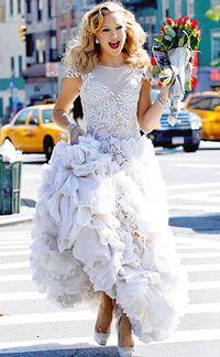 Vestido de noiva Marchesa. #casamento #vestidodenoiva
