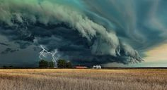 Supercell in Grand Prairie, TX