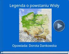 Book titled 'Legenda o powstaniu Wisły' Learning Time, Montessori Materials, Book Title, Homeschool, Education, Europe, Blog, Geography, Blogging