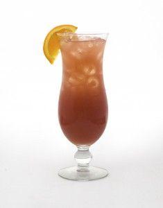 The Tito's Poolside: Chambord, Peach Schnapps, Cranbery juice, Orange juice & fresh sour!