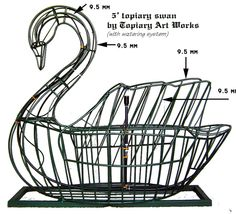 Swan topiary frame 5 ' by topiary1, via Flickr