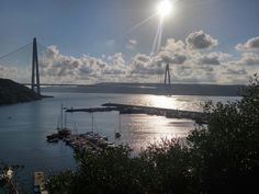 #istanbul, #manzara, #köprü, #güneş,