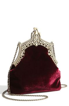 House of Harlow 1960 'Rey' Velvet Pouch fits my old hollywood theme #Nordstromweddings