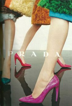 Great colour in this Prada ad. - Prada Pumps - Ideas of Prada Pumps - Great colour in this Prada ad. Shoes Editorial, Editorial Fashion, Fashion Shoot, Fashion Week, Campaign Fashion, Fashion Advertising, Mode Editorials, All About Shoes, Prada Shoes