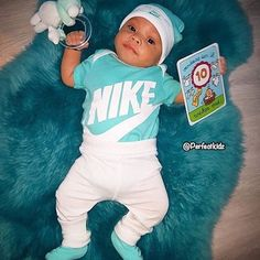 Beautiful baby boy celebrating his ten month old milestone Baby Boy Clothes Nike, Baby Boy Nike, Baby Boy Swag, Newborn Boy Clothes, Cute Baby Boy, Newborn Outfits, Cute Baby Clothes, Baby Boy Outfits, Cute Babies