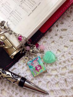 Hello Kitty Falling down the rabbit hole  - Filofax Charm