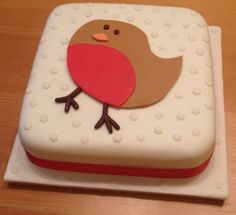 Christmas Cake Ideas Robin : 1000+ images about My Christmas cakes on Pinterest ...