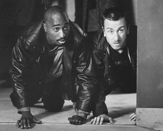 """Spoon Whitmore and Stretch Rawland in """"Gridlock'd"""" played by Tupac Shakur and Tim Roth"""