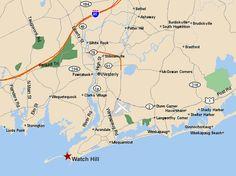 Watch Hill Rhode Island Map Watch hill rhode Island Click for larger map & directions | rhode