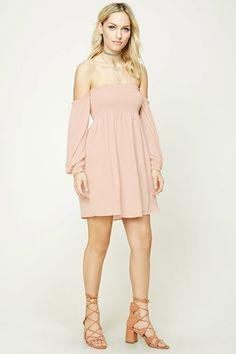 Contemporary Smocked Mini Dress | Forever 21 - 2000207553