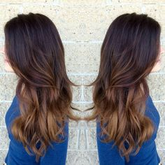 Hand painted highlights. Color done by Lindz Carmine&Co. Hair Salon.