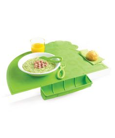 This Green Place Mat by Mastrad Baby is perfect! #zulilyfinds