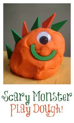 Super scary play dough monsters!