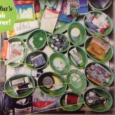 Martha Stewart's junk drawer