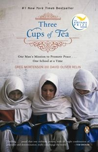 Three Cups of Tea... even though the author has been accused of embellishing his story, there's no question he has accomplished a great deal with his approach in creating this incredible story