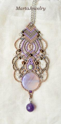 Bohemian necklace by MartaJewelry