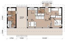 Summer Kitchen, Large Windows, Floor Plans, Cottage, Modern, Design, Small Houses, Little Houses, Trendy Tree