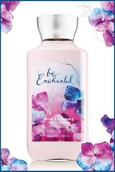 Shimmering fragrance with 2x the moisture & 3x the shea for happy-ever-after skin. #BeEnchanted