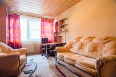 Hochu Priehat na Engelsa Saint Petersburg Situated in Saint Petersburg, this apartment is 10 km from Petrovsky Stadium. The unit is 11 km from Hermitage Museum. Free WiFi is available .  The kitchen has an oven, a microwave and a fridge, as well as a kettle. A TV is provided.