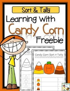 Learning with Candy Corn FREEBIE - Sort & Tally