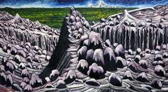 dean buchanan painting of waterfall - Google Search Dean, Waterfall, Google Search, Painting, Painting Art, Waterfalls, Paint, Rain, Draw