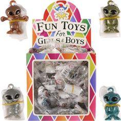 MINI GALAXY SPACE ALIEN PARACHUTES BOYS TOY GIFT CHRISTMAS party prizes 6//12x