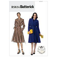 c67b252b73 Buy Butterick Women s Double Breasted Coat Sewing Pattern