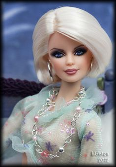 Lorna OOAK Barbie Basic Repaint