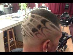 Fade With Design Haircut Images & Pictures Taper Fade Mohawk, Classic Mens Haircut, Hair Designs For Boys, Fade Haircut Designs, Haircut Images, Mohawk Hairstyles, Fade Designs, Shiny Hair, Hair Art