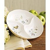 Lenox Dinnerware, Butterfly Meadow Divided Dish
