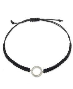 #Bracelets #Yellora #shopping #sofiprice YellOra Diamond Circle Parachute Cord Bracelet in YellOra (1/6 ct. t.w.) - https://sofiprice.com/product/yellora-diamond-circle-parachute-cord-bracelet-in-yellora-1-6-ct-t-w-50942228.html