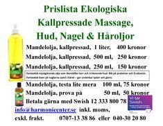 Prislista - Hälsoprodukter  Fresh Skin Sverige Fräsch Hud Hår Naglar @FreshskinMalmoe Massage- Hud-, Nagel- och Håroljor- hos Malmö Harmonicenter Stelas Massage 2018 på Ystadvägen 22B 214 30  MALMÖ 0707-13 38 86