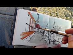 (31) Urban Sketching Series Pt 7 | CONTRAST - YouTube