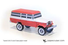 Toyota FJ45LV Land Cruiser | papercruiser.com