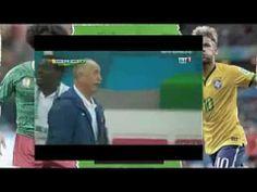 Cameroon vs Brazil 1-3 Goal Fred 23.06.2014