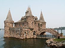 Boldt Castle - NY built for love, nestled on ♡ island; waiting for the young lovers to return.