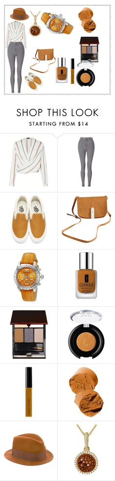 """Style #1"" by theaka ❤ liked on Polyvore featuring Miss Selfridge, Vans, Chicnova Fashion, Invicta, Clinique, Kevyn Aucoin, tarte, Bobbi Brown Cosmetics and rag & bone"