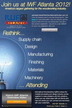 IWF Atlanta 2012 - Advanced Registration Discounts End July 27th.  Meet us in booths 5035 6713 7013 & 7068