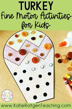 These low-prep turkey-themed fine motor activities are such a fun way practice fine motor skills in your pre-k classroom. Perfect for morning work, centers, or small groups, your preschool students will love getting to cut, trace, lace, and decorate colorful turkeys while practicing foundational math, literacy, fine motor development, and social skills. These Thanksgiving fine motor activities also help to develop important pre-writing skills.